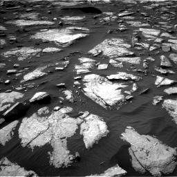 Nasa's Mars rover Curiosity acquired this image using its Left Navigation Camera on Sol 1509, at drive 1122, site number 59