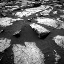 Nasa's Mars rover Curiosity acquired this image using its Left Navigation Camera on Sol 1509, at drive 1194, site number 59