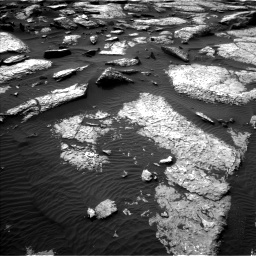 Nasa's Mars rover Curiosity acquired this image using its Left Navigation Camera on Sol 1509, at drive 1218, site number 59