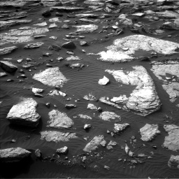 Nasa's Mars rover Curiosity acquired this image using its Left Navigation Camera on Sol 1509, at drive 1254, site number 59
