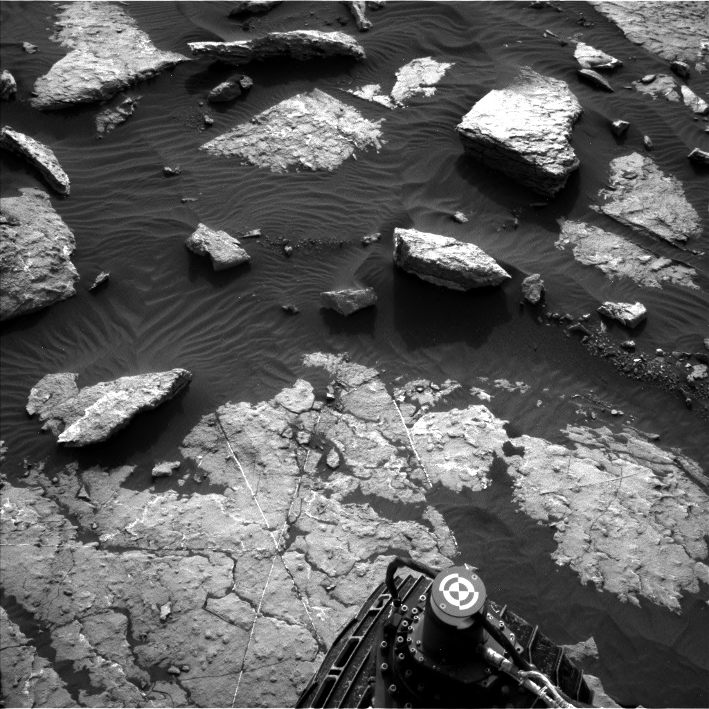 Nasa's Mars rover Curiosity acquired this image using its Left Navigation Camera on Sol 1509, at drive 1260, site number 59