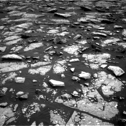 Nasa's Mars rover Curiosity acquired this image using its Right Navigation Camera on Sol 1509, at drive 936, site number 59