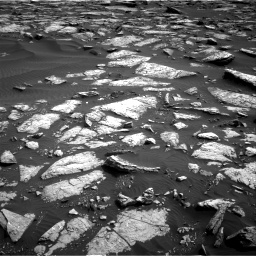 Nasa's Mars rover Curiosity acquired this image using its Right Navigation Camera on Sol 1509, at drive 954, site number 59
