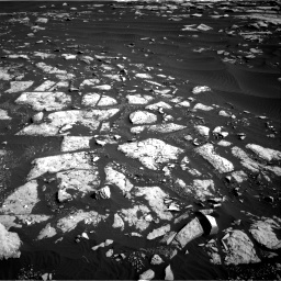NASA's Mars rover Curiosity acquired this image using its Right Navigation Cameras (Navcams) on Sol 1509