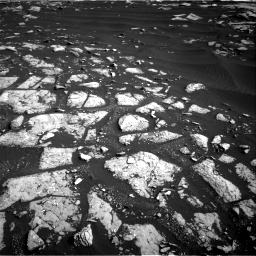 Nasa's Mars rover Curiosity acquired this image using its Right Navigation Camera on Sol 1509, at drive 984, site number 59