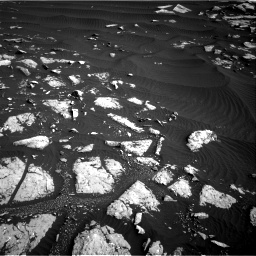 Nasa's Mars rover Curiosity acquired this image using its Right Navigation Camera on Sol 1509, at drive 1002, site number 59