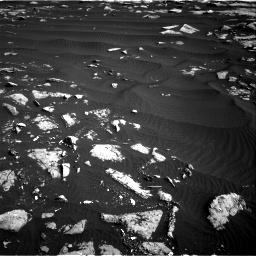 Nasa's Mars rover Curiosity acquired this image using its Right Navigation Camera on Sol 1509, at drive 1008, site number 59