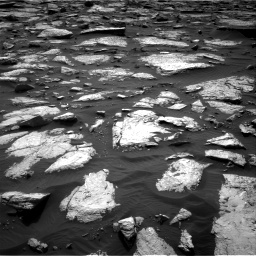 Nasa's Mars rover Curiosity acquired this image using its Right Navigation Camera on Sol 1509, at drive 1104, site number 59