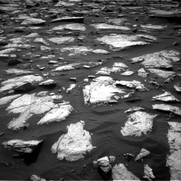 Nasa's Mars rover Curiosity acquired this image using its Right Navigation Camera on Sol 1509, at drive 1110, site number 59