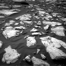 Nasa's Mars rover Curiosity acquired this image using its Right Navigation Camera on Sol 1509, at drive 1116, site number 59
