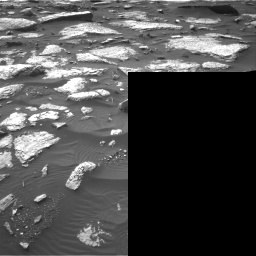 Nasa's Mars rover Curiosity acquired this image using its Right Navigation Camera on Sol 1509, at drive 1140, site number 59