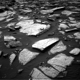 Nasa's Mars rover Curiosity acquired this image using its Right Navigation Camera on Sol 1509, at drive 1170, site number 59