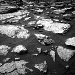 Nasa's Mars rover Curiosity acquired this image using its Right Navigation Camera on Sol 1509, at drive 1182, site number 59