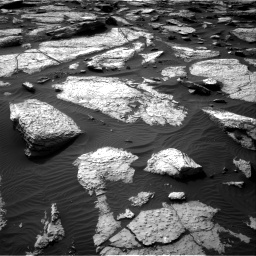 Nasa's Mars rover Curiosity acquired this image using its Right Navigation Camera on Sol 1509, at drive 1188, site number 59