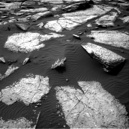 Nasa's Mars rover Curiosity acquired this image using its Right Navigation Camera on Sol 1509, at drive 1200, site number 59