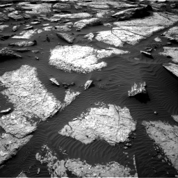 Nasa's Mars rover Curiosity acquired this image using its Right Navigation Camera on Sol 1509, at drive 1206, site number 59