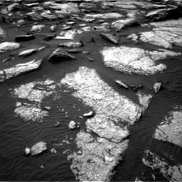 Nasa's Mars rover Curiosity acquired this image using its Right Navigation Camera on Sol 1509, at drive 1218, site number 59