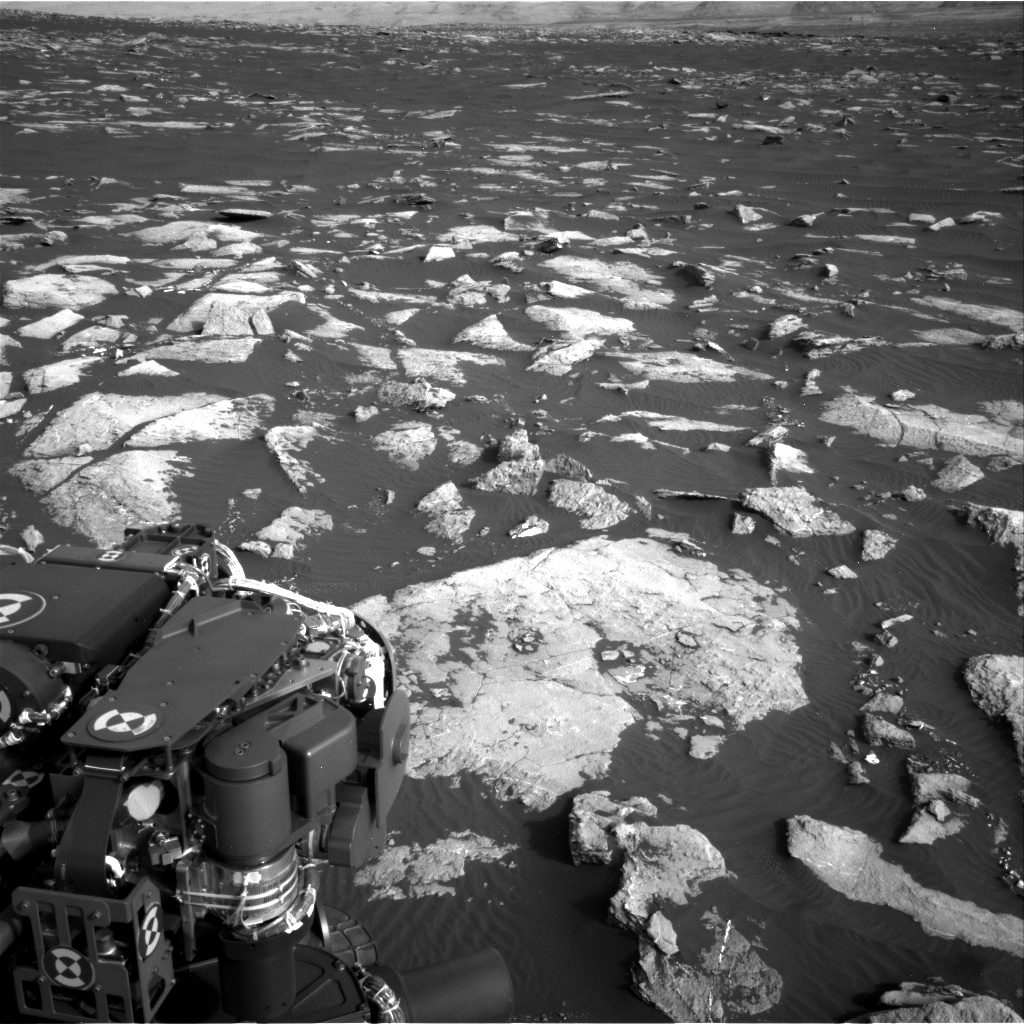 Nasa's Mars rover Curiosity acquired this image using its Right Navigation Camera on Sol 1509, at drive 1260, site number 59