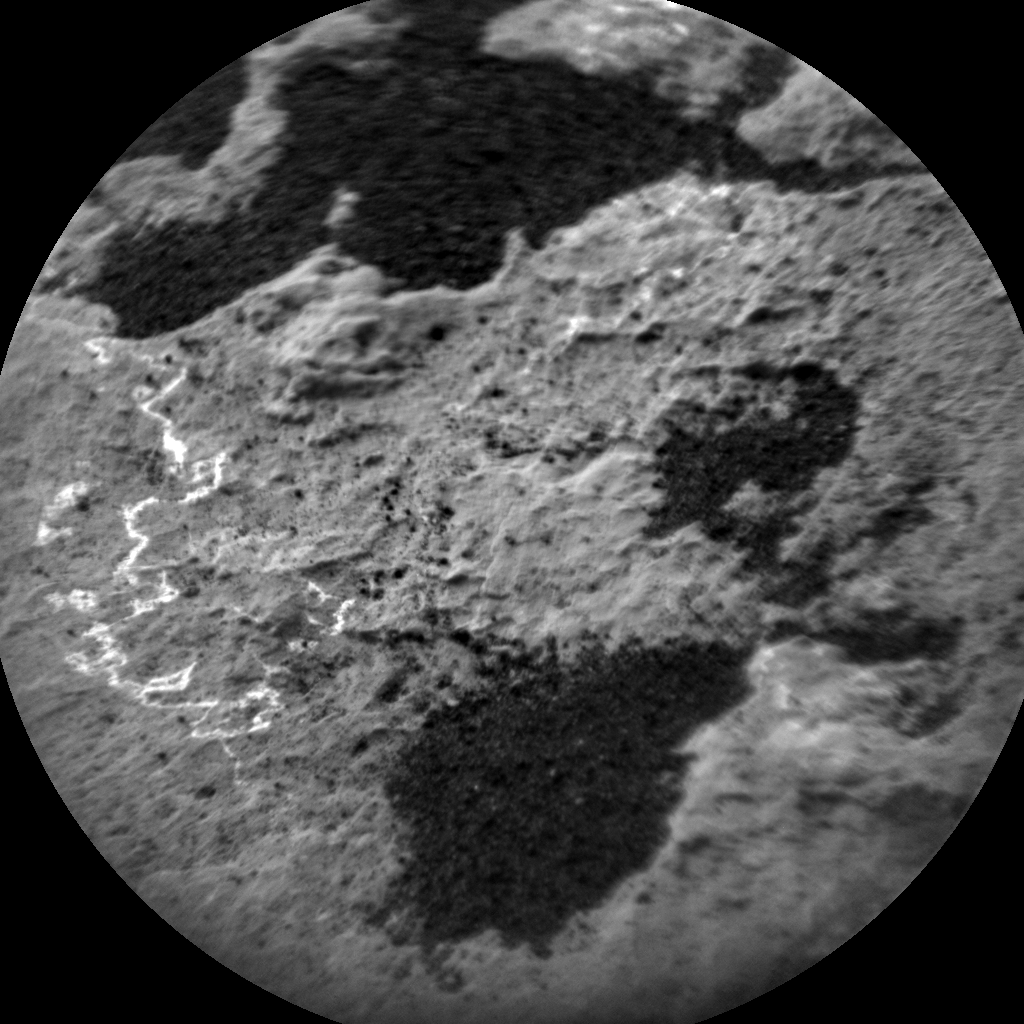 Nasa's Mars rover Curiosity acquired this image using its Chemistry & Camera (ChemCam) on Sol 1509, at drive 1260, site number 59