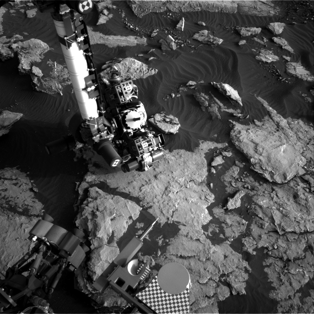 Nasa's Mars rover Curiosity acquired this image using its Right Navigation Camera on Sol 1511, at drive 1260, site number 59