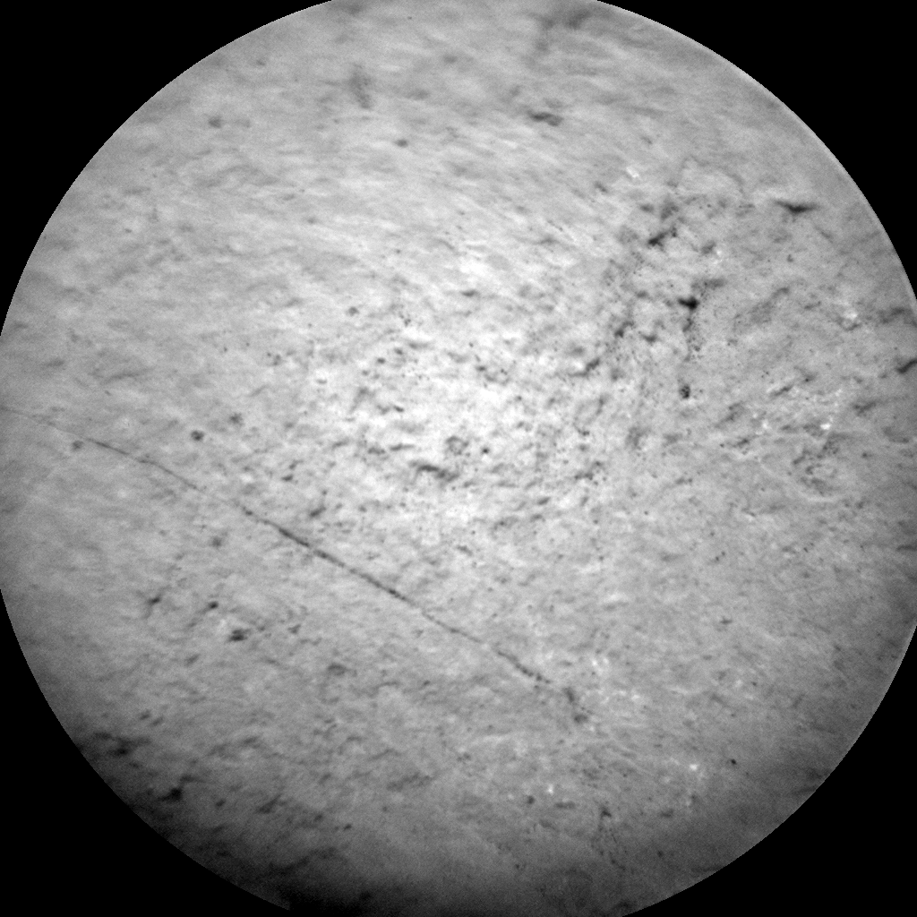 Nasa's Mars rover Curiosity acquired this image using its Chemistry & Camera (ChemCam) on Sol 1511, at drive 1260, site number 59