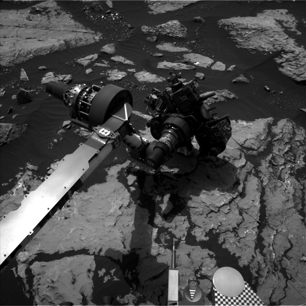 Nasa's Mars rover Curiosity acquired this image using its Left Navigation Camera on Sol 1512, at drive 1260, site number 59