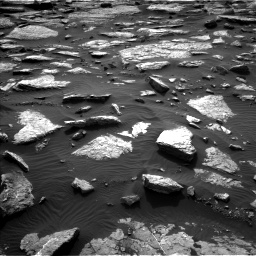 Nasa's Mars rover Curiosity acquired this image using its Left Navigation Camera on Sol 1512, at drive 1302, site number 59