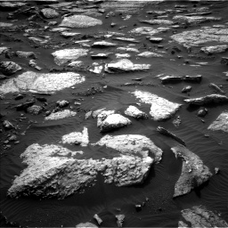 Nasa's Mars rover Curiosity acquired this image using its Left Navigation Camera on Sol 1512, at drive 1314, site number 59