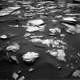 Nasa's Mars rover Curiosity acquired this image using its Left Navigation Camera on Sol 1512, at drive 1392, site number 59