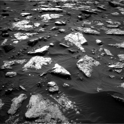 Nasa's Mars rover Curiosity acquired this image using its Left Navigation Camera on Sol 1512, at drive 1464, site number 59