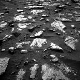 Nasa's Mars rover Curiosity acquired this image using its Left Navigation Camera on Sol 1512, at drive 1470, site number 59