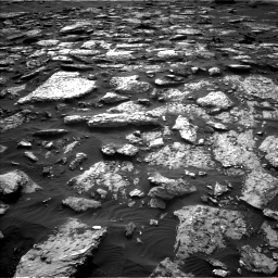 Nasa's Mars rover Curiosity acquired this image using its Left Navigation Camera on Sol 1512, at drive 1572, site number 59