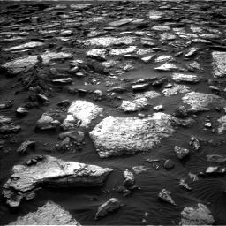 Nasa's Mars rover Curiosity acquired this image using its Left Navigation Camera on Sol 1512, at drive 1596, site number 59