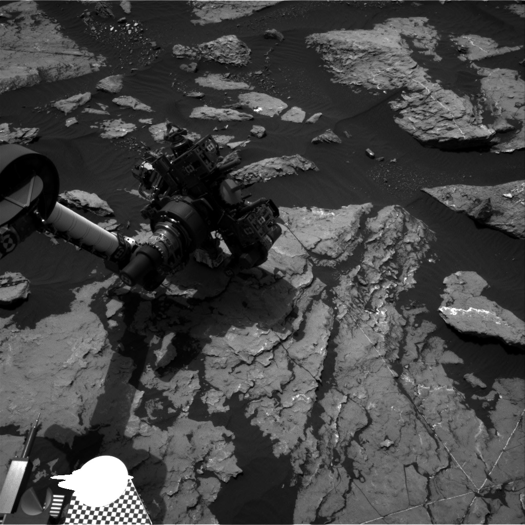 Nasa's Mars rover Curiosity acquired this image using its Right Navigation Camera on Sol 1512, at drive 1260, site number 59