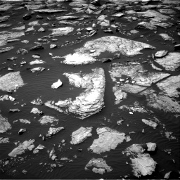 Nasa's Mars rover Curiosity acquired this image using its Right Navigation Camera on Sol 1512, at drive 1278, site number 59
