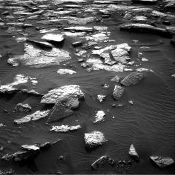 Nasa's Mars rover Curiosity acquired this image using its Right Navigation Camera on Sol 1512, at drive 1362, site number 59