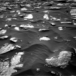 Nasa's Mars rover Curiosity acquired this image using its Right Navigation Camera on Sol 1512, at drive 1434, site number 59