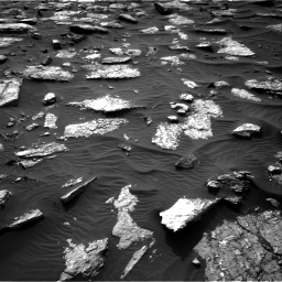 Nasa's Mars rover Curiosity acquired this image using its Right Navigation Camera on Sol 1512, at drive 1452, site number 59