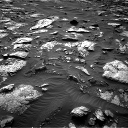 Nasa's Mars rover Curiosity acquired this image using its Right Navigation Camera on Sol 1512, at drive 1506, site number 59