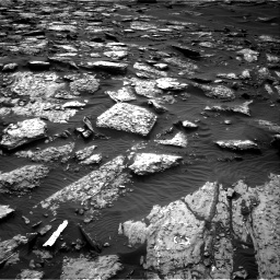 Nasa's Mars rover Curiosity acquired this image using its Right Navigation Camera on Sol 1512, at drive 1548, site number 59
