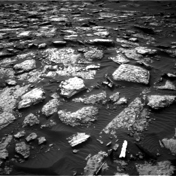Nasa's Mars rover Curiosity acquired this image using its Right Navigation Camera on Sol 1512, at drive 1554, site number 59