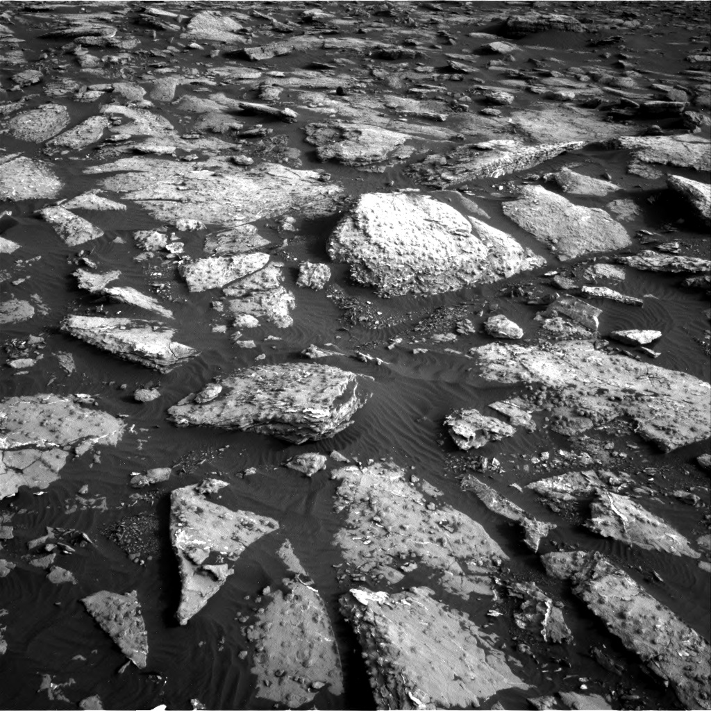 Nasa's Mars rover Curiosity acquired this image using its Right Navigation Camera on Sol 1512, at drive 1560, site number 59