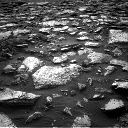 Nasa's Mars rover Curiosity acquired this image using its Right Navigation Camera on Sol 1512, at drive 1596, site number 59