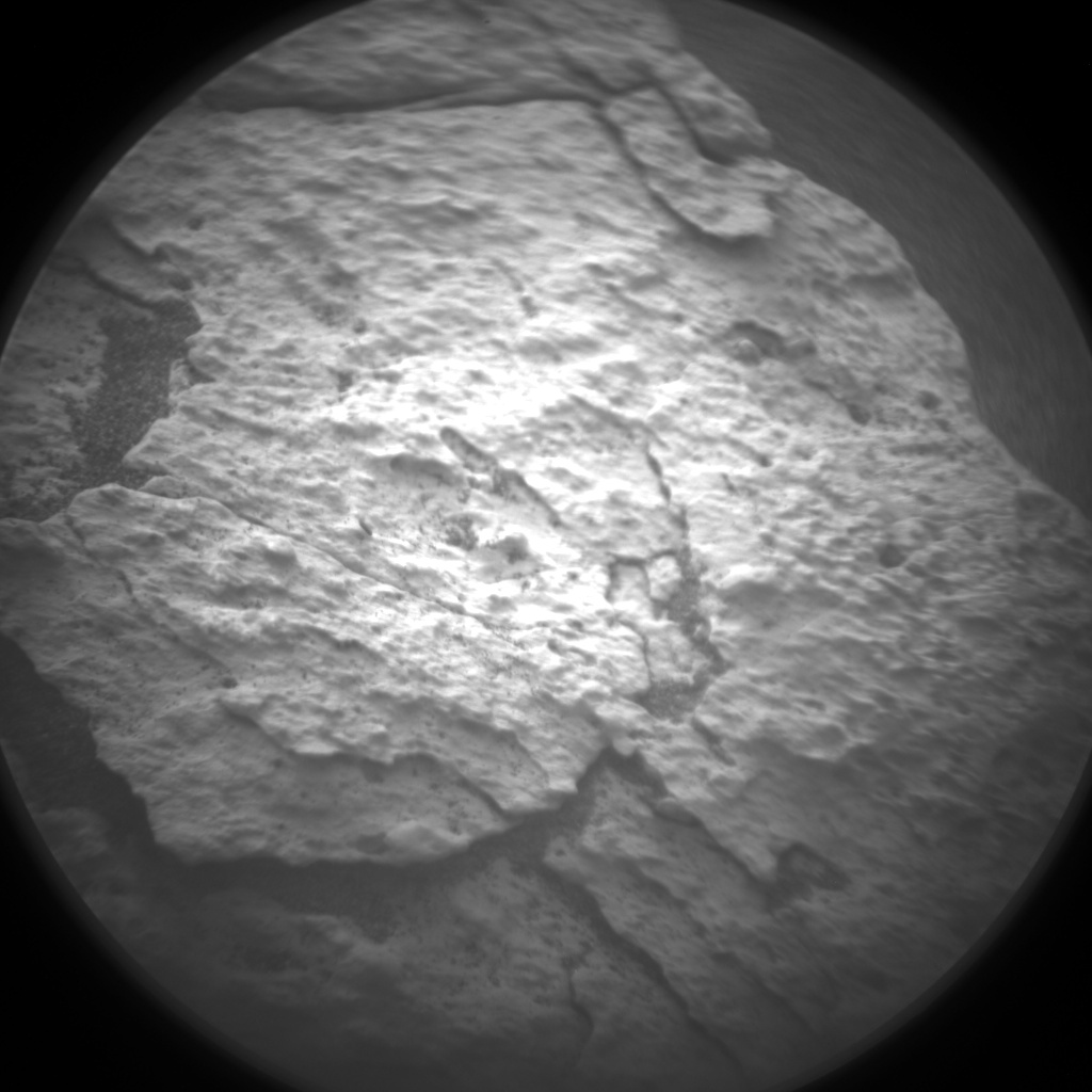 Nasa's Mars rover Curiosity acquired this image using its Chemistry & Camera (ChemCam) on Sol 1514, at drive 1998, site number 59