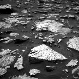 Nasa's Mars rover Curiosity acquired this image using its Left Navigation Camera on Sol 1514, at drive 1710, site number 59