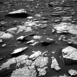 Nasa's Mars rover Curiosity acquired this image using its Left Navigation Camera on Sol 1514, at drive 1716, site number 59