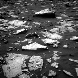 NASA's Mars rover Curiosity acquired this image using its Left Navigation Camera (Navcams) on Sol 1514