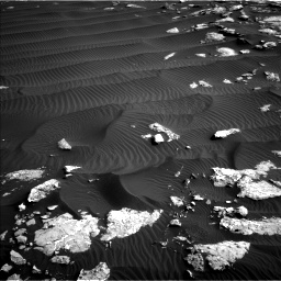 Nasa's Mars rover Curiosity acquired this image using its Left Navigation Camera on Sol 1514, at drive 1758, site number 59