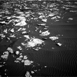Nasa's Mars rover Curiosity acquired this image using its Left Navigation Camera on Sol 1514, at drive 1854, site number 59