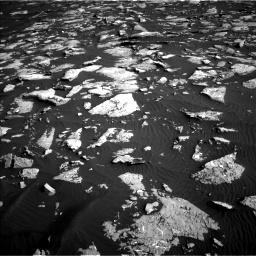 Nasa's Mars rover Curiosity acquired this image using its Left Navigation Camera on Sol 1514, at drive 1872, site number 59